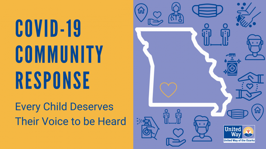COVID-19 Community Response: Every Child Deserves Their Voice to be Heard