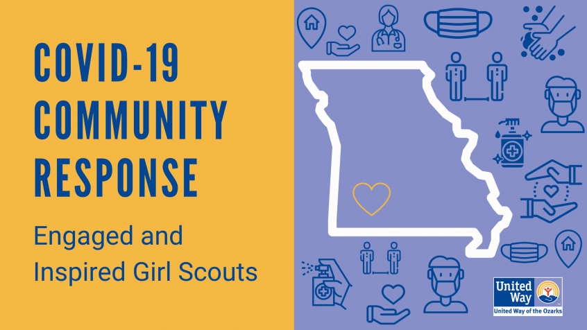 COVID-19 Community Response: Engaged and Inspired Girl Scouts
